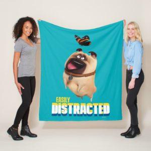 Secret Life of Pets - Mel | Easily Distracted Fleece Blanket