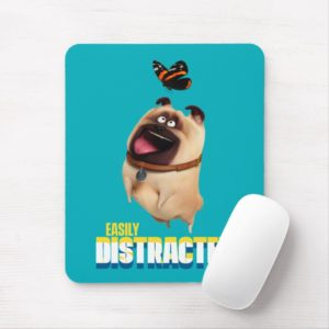 Secret Life of Pets - Mel | Easily Distracted Mouse Pad
