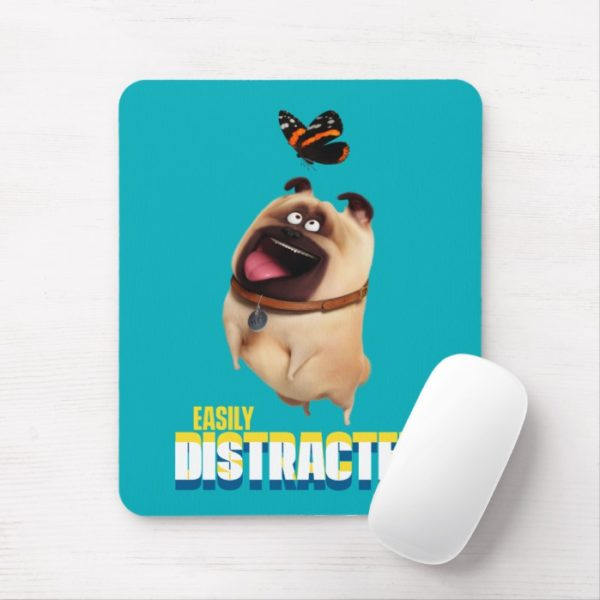 Secret Life of Pets - Mel   Easily Distracted Mouse Pad