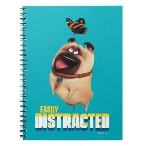 Secret Life of Pets - Mel   Easily Distracted Notebook