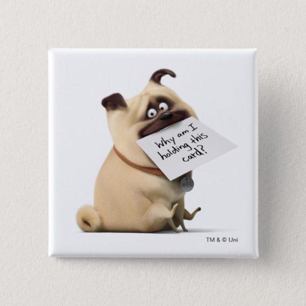 Secret Life of Pets | Mel - Holding Card Button
