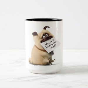 Secret Life of Pets | Mel - Holding Card Two-Tone Coffee Mug