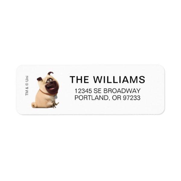 Secret Life of Pets - Mel Label
