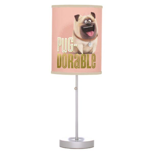 Secret Life of Pets - Mel | Pug-Dorable Desk Lamp