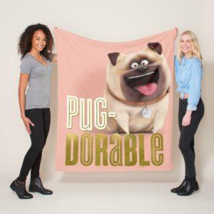 Secret Life of Pets - Mel | Pug-Dorable Fleece Blanket