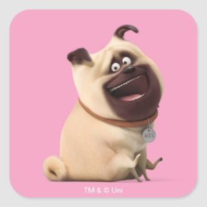 Secret Life of Pets - Mel Square Sticker