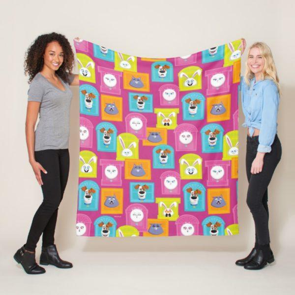 Secret Life of Pets Pattern Fleece Blanket