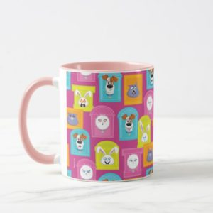 Secret Life of Pets Pattern Mug