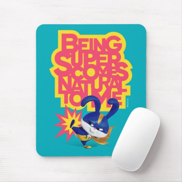 Secret Life of Pets - Snowball   Being Super Mouse Pad