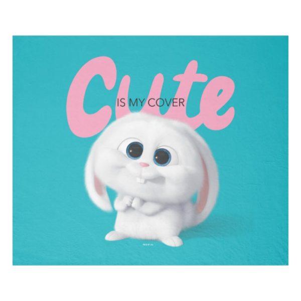 Secret Life of Pets - Snowball   Cute is My Cover Fleece Blanket