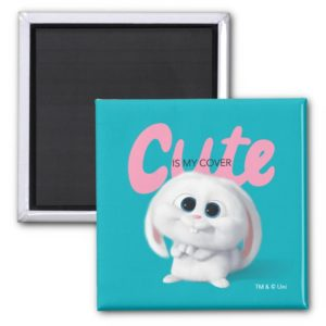 Secret Life of Pets - Snowball | Cute is My Cover Magnet