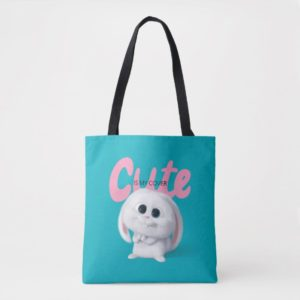 Secret Life of Pets - Snowball | Cute is My Cover Tote Bag