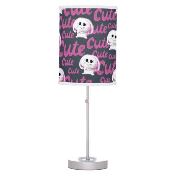 Secret Life of Pets - Snowball Cute Pattern Desk Lamp