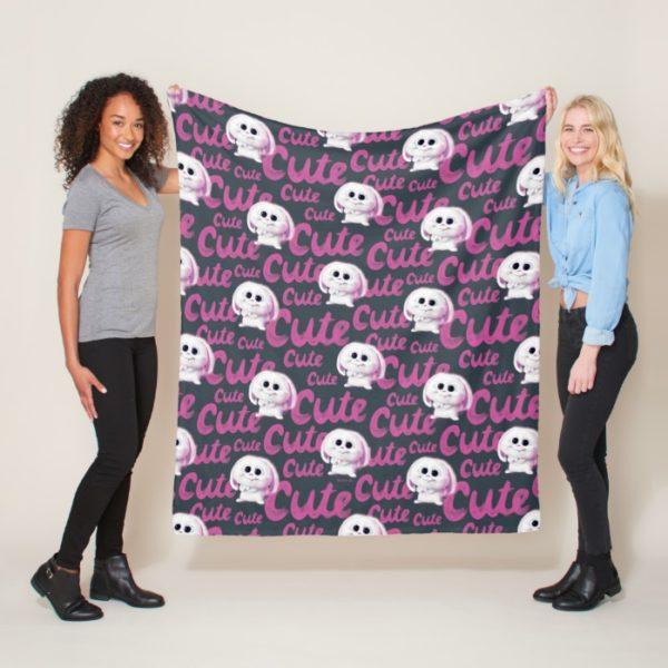Secret Life of Pets - Snowball Cute Pattern Fleece Blanket
