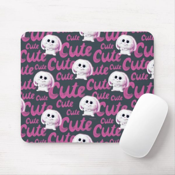 Secret Life of Pets - Snowball Cute Pattern Mouse Pad