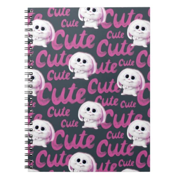Secret Life of Pets - Snowball Cute Pattern Notebook
