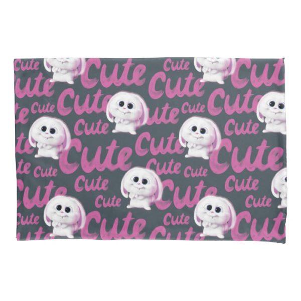 Secret Life of Pets - Snowball Cute Pattern Pillow Case