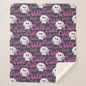 Secret Life of Pets - Snowball Cute Pattern Sherpa Blanket