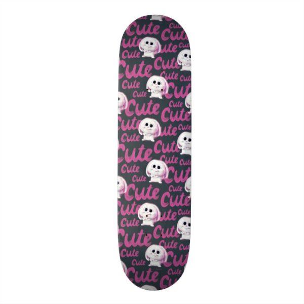 Secret Life of Pets - Snowball Cute Pattern Skateboard