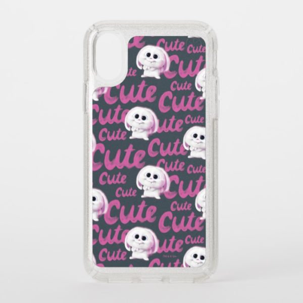 Secret Life of Pets - Snowball Cute Pattern Speck iPhone Case