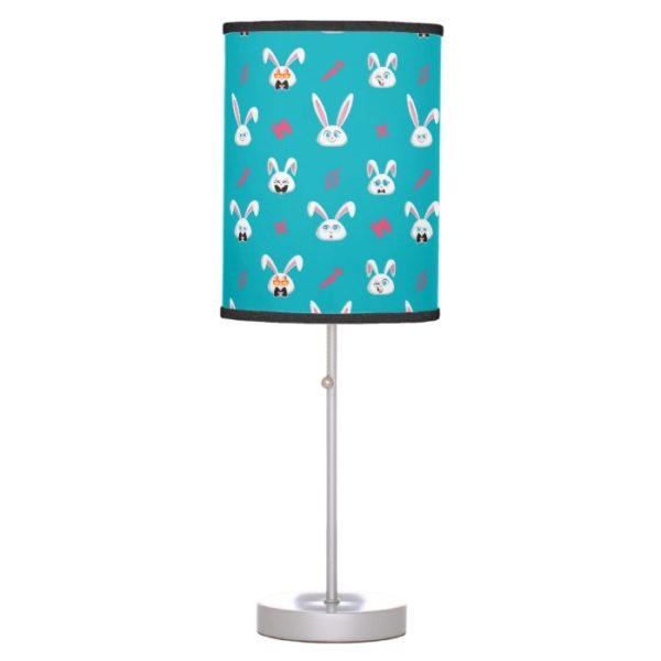 Secret Life of Pets - Snowball Pattern Desk Lamp