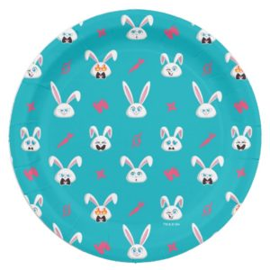 Secret Life of Pets - Snowball Pattern Paper Plate