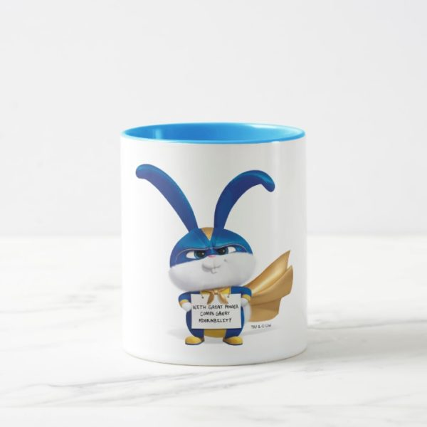 Secret Life of Pets   Snowball - With Great Power Mug