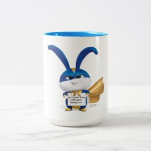 Secret Life of Pets   Snowball - With Great Power Two-Tone Coffee Mug