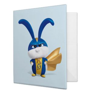 Secret Life of Pets - Super Snowball 3 Ring Binder
