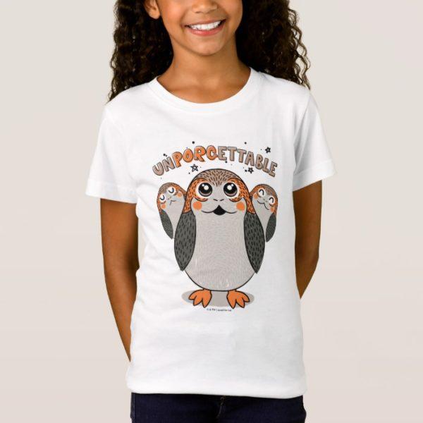 Star Wars Porgs   UNPORGETTABLE T-Shirt