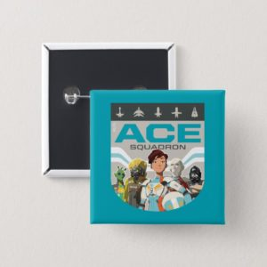 Star Wars Resistance | Ace Squadron Button