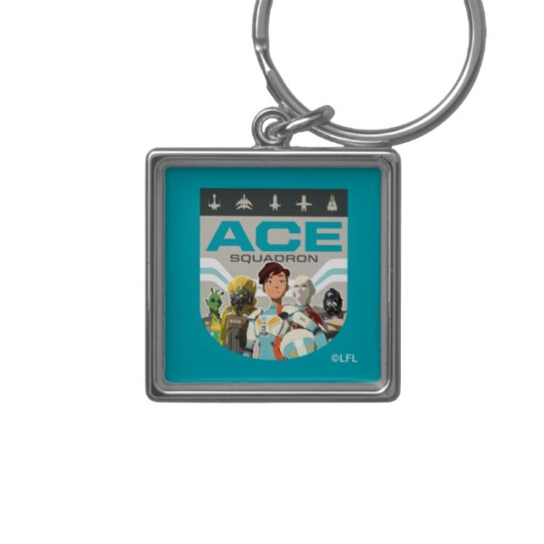 Star Wars Resistance   Ace Squadron Keychain