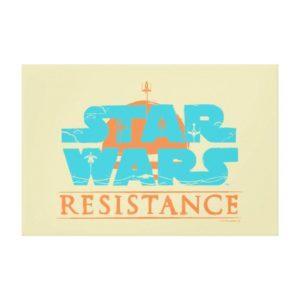 Star Wars Resistance | Ace Squadron Logo Canvas Print