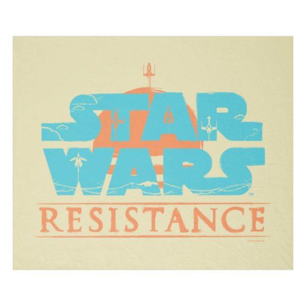 Star Wars Resistance | Ace Squadron Logo Fleece Blanket