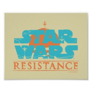 Star Wars Resistance   Ace Squadron Logo Poster