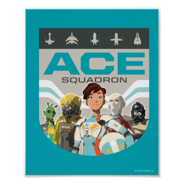 Star Wars Resistance | Ace Squadron Poster