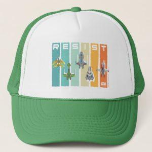 "Star Wars Resistance   Ace Squadron ""Resist"" Trucker Hat"