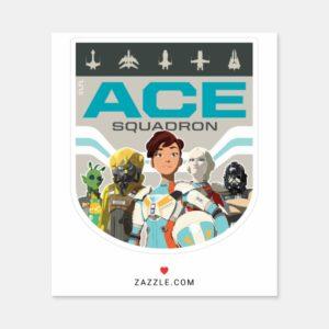 Star Wars Resistance | Ace Squadron Sticker