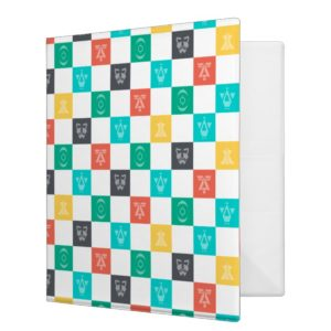 Star Wars Resistance | Aces Icon Checker Pattern 3 Ring Binder