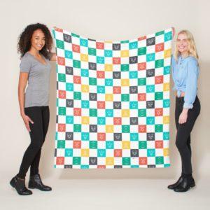Star Wars Resistance   Aces Icon Checker Pattern Fleece Blanket
