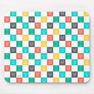 Star Wars Resistance | Aces Icon Checker Pattern Mouse Pad