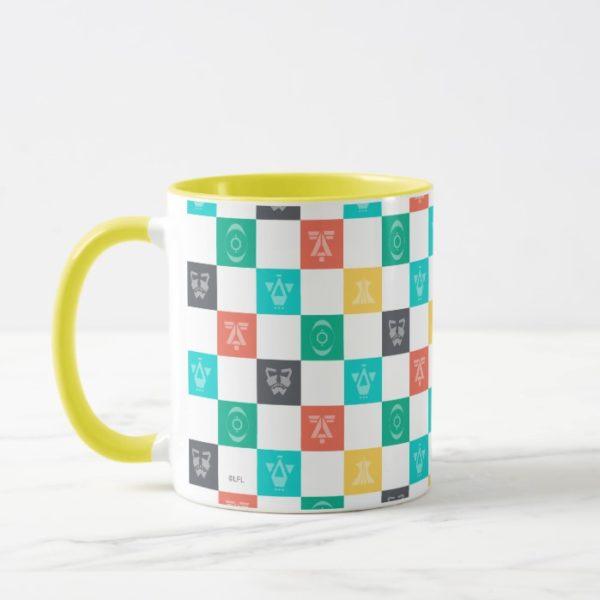 Star Wars Resistance | Aces Icon Checker Pattern Mug