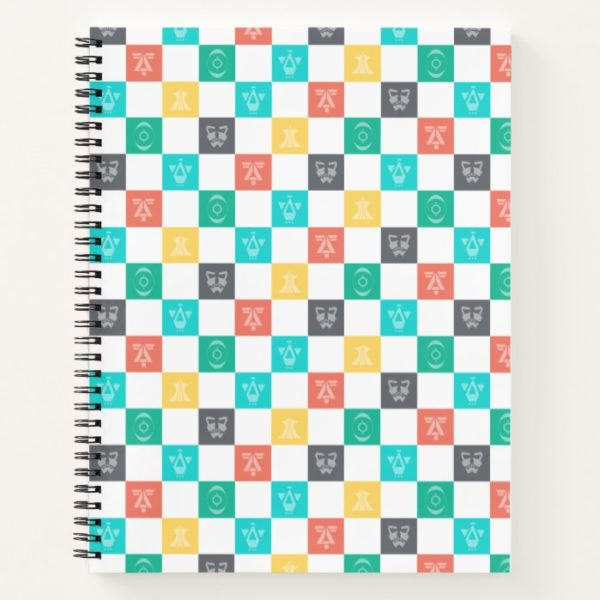 Star Wars Resistance | Aces Icon Checker Pattern Notebook