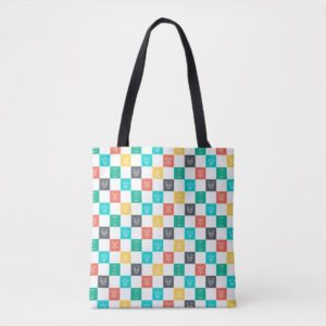 Star Wars Resistance | Aces Icon Checker Pattern Tote Bag