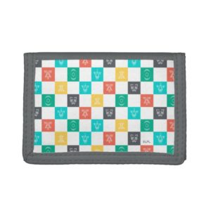 Star Wars Resistance | Aces Icon Checker Pattern Trifold Wallet