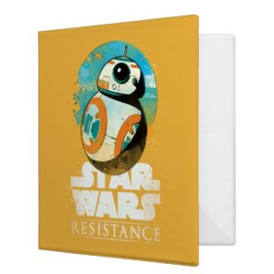 Star Wars Resistance | BB-8 Badge 3 Ring Binder