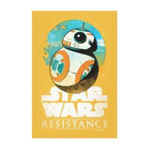 Star Wars Resistance | BB-8 Badge Canvas Print