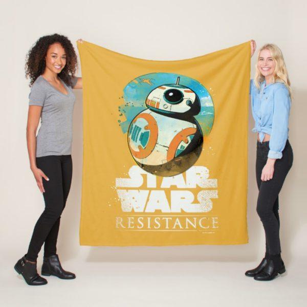Star Wars Resistance | BB-8 Badge Fleece Blanket