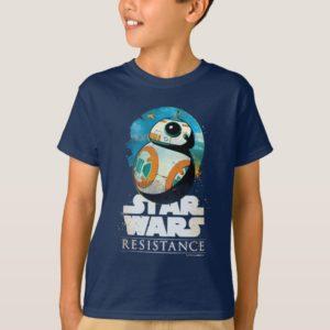 Star Wars Resistance   BB-8 Badge T-Shirt