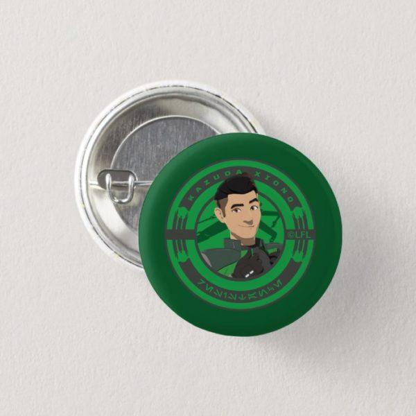 Star Wars Resistance   Kazuda Xiono Button